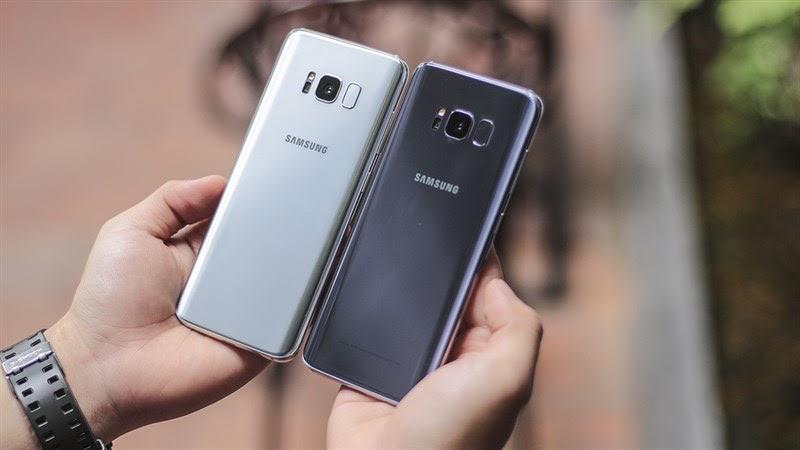 Samsung Galaxy S8 là sản phẩm bán chạy tại GALAXYDIDONG