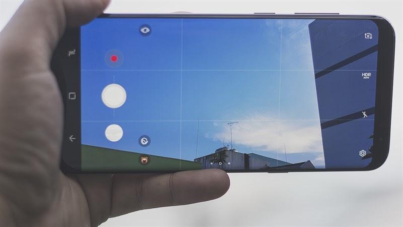 Chất lượng camera Samsung 8 Plus được cải thiện