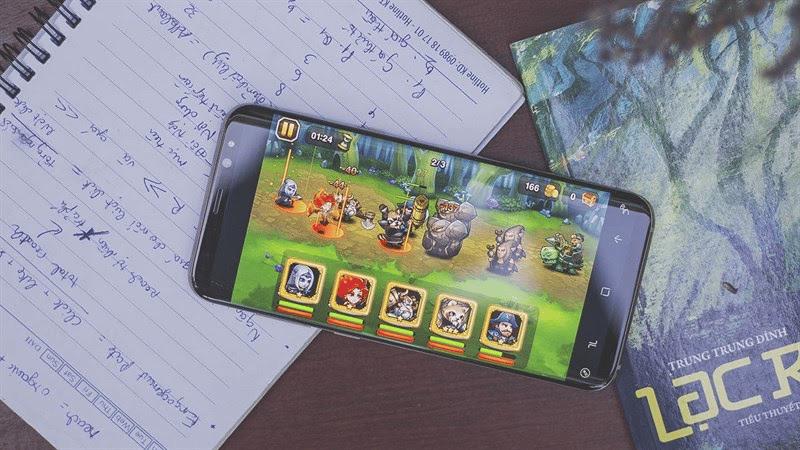 Hiệu suất Samsung S8 Plus tối ưu