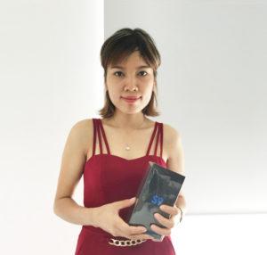 Mua sữa trái cây Nutriboost, nữ công nhân trúng Galaxy S9
