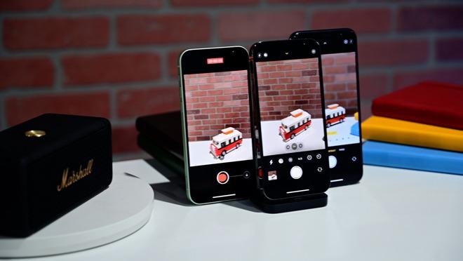 Bộ 3 camera iphone 12 quốc tế chất lượng vượt trội