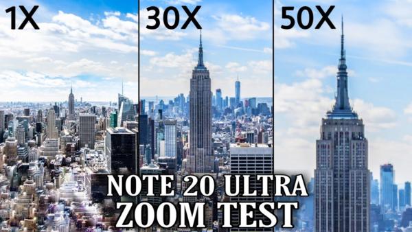 Điện thoại chụp ảnh đẹp nhất 2021 - Samsung Galaxy Note 20 Ultra