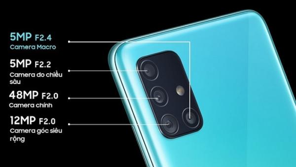 Điện thoại chụp ảnh đẹp nhất 2021 - Samsung Galaxy A51
