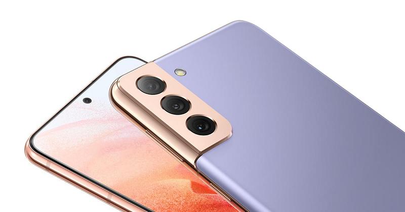 Samsung galaxy S21 Plus 5G Cụm camera độc đáo phong cách Contour Cut