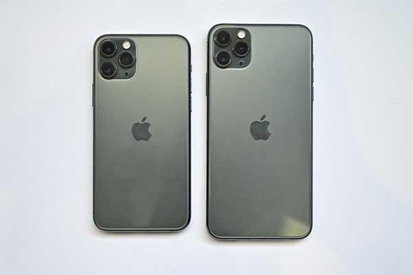 So sánh iphone 11 pro và 11 pro max