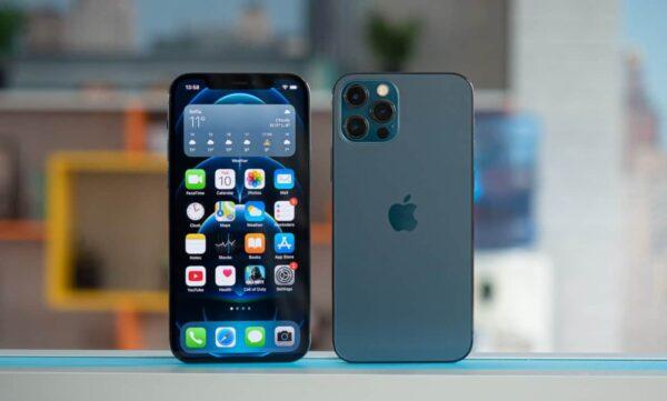 iPhone 12 Pro Max màu xanh đại dương Pacific Blue
