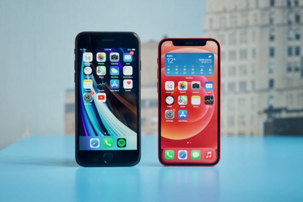 iPhone SE 2020, iPhone 12 mini